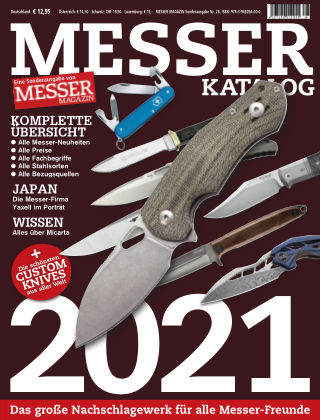 MESSER KATALOG Messer Katalog 2021