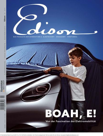 Edison August 03, 2019 00:00