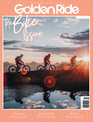 Golden Ride Magazine - Surf / Bike / Snowboard-Mag für Frauen 50 - Bike Issue