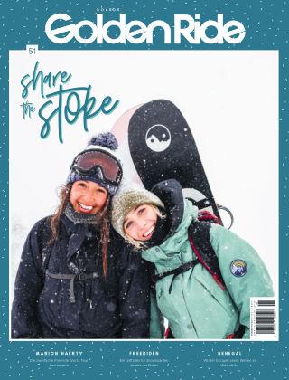 Golden Ride Magazine - Surf / Bike / Snowboard-Mag für Frauen 51- Snowboard Issue