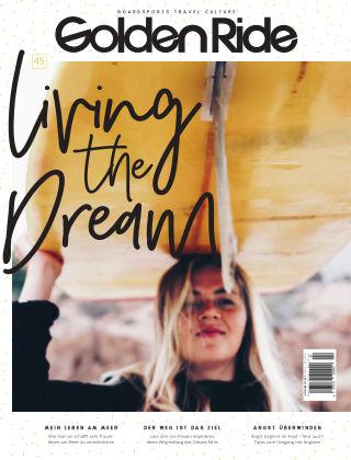 Golden Ride Magazine - Surf / Bike / Snowboard-Mag für Frauen 45 - Surf Issue