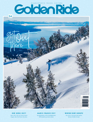 Golden Ride Magazine - Surf / Bike / Snowboard 54 - Snowboard Issue