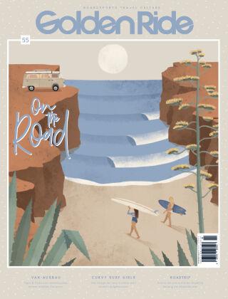 Golden Ride Magazine - Surf / Bike / Snowboard-Mag für Frauen 55 Van & Surf Issue