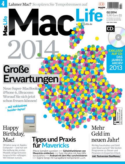 Mac Life - DE January 03, 2014 00:00