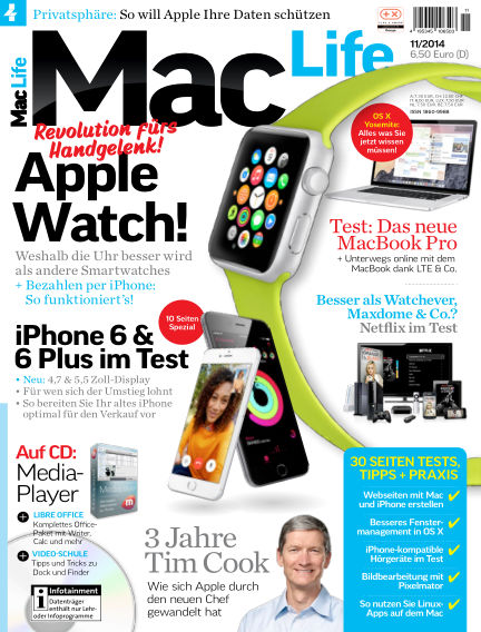 Mac Life - DE October 02, 2014 00:00