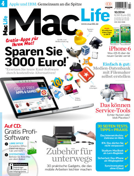 Mac Life - DE September 01, 2014 00:00