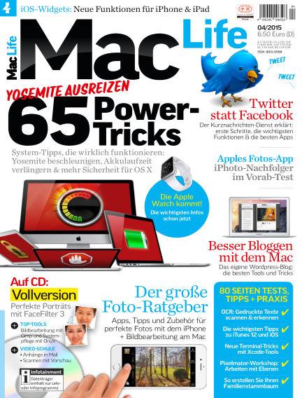 Mac Life - DE March 02, 2015 00:00