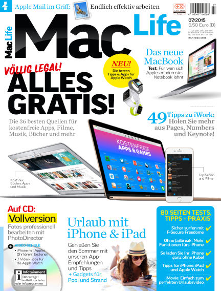 Mac Life - DE June 01, 2015 00:00