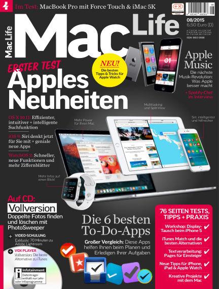 Mac Life - DE July 01, 2015 00:00