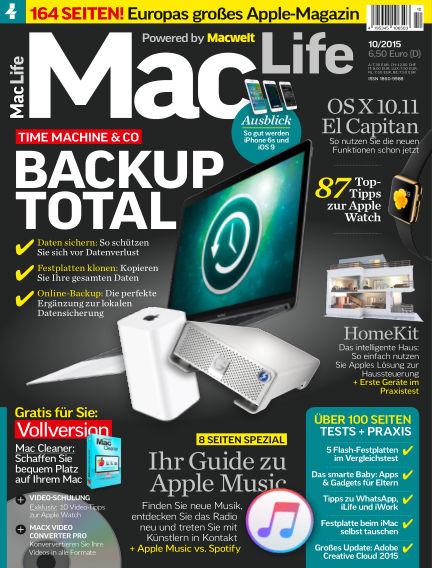Mac Life - DE September 01, 2015 00:00