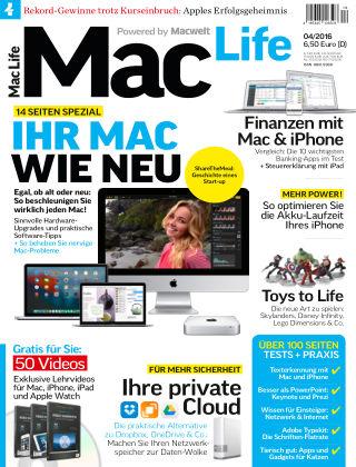 Mac Life - DE 04.2016