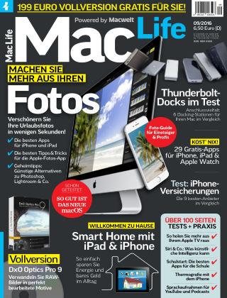 Mac Life - DE 09.2016