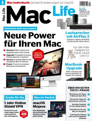 Mac Life - DE 09.2018