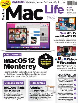 Mac Life - DE 08.2021