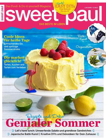 sweet paul May 19, 2015 00:00