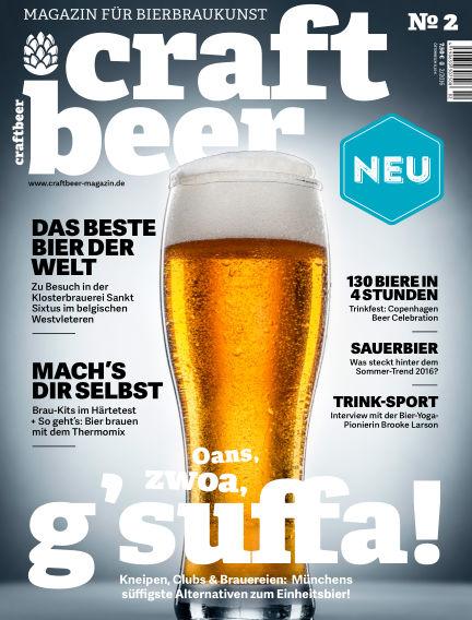 Craftbeer-Magazin August 25, 2016 00:00