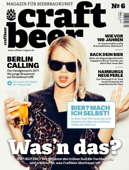 Craftbeer-Magazin August 23, 2017 00:00