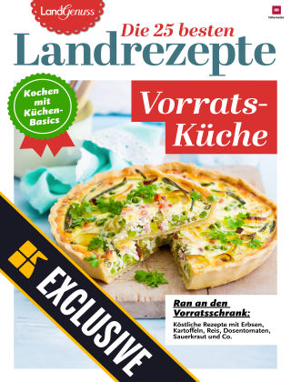 LandGenuss Readly Exclusive Vorratsküche