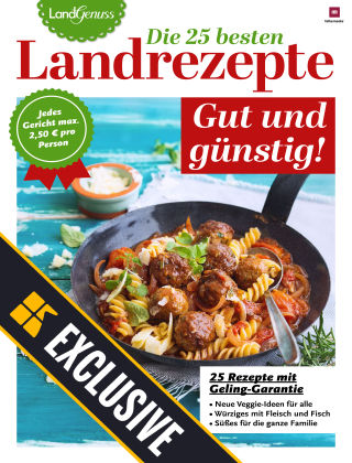 LandGenuss Readly Exclusive GUT & GÜNSTIG