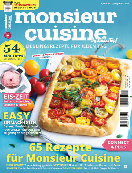 meinZauberTopf Monsieur Cuisine July 02, 2021 00:00