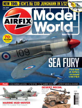 Airfix Model World July 2019