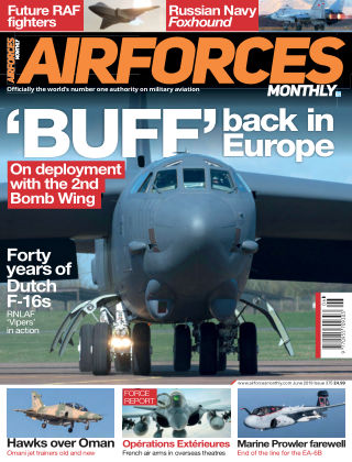 AirForces Monthly June 2019