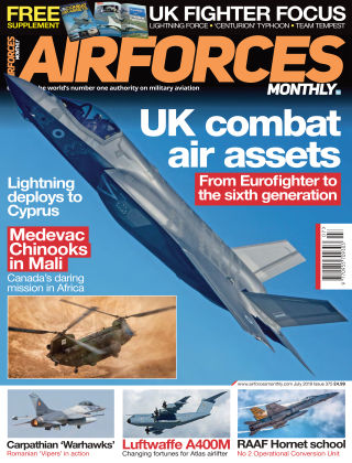 AirForces Monthly Jul 2019