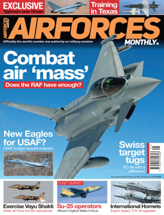 AirForces Monthly May 2019