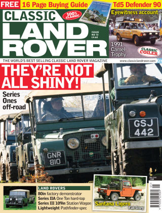Classic Land Rover May 2019