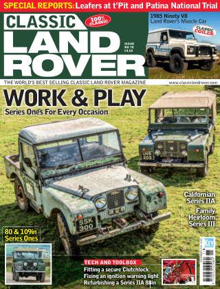 Classic Land Rover Nov 2019