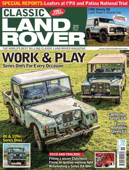 Classic Land Rover October 02, 2019 00:00