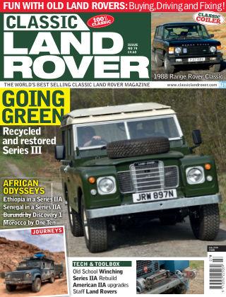 Classic Land Rover Jul 2019