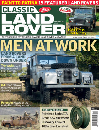 Classic Land Rover Jan 2019