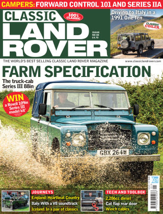 Classic Land Rover Jan 2020