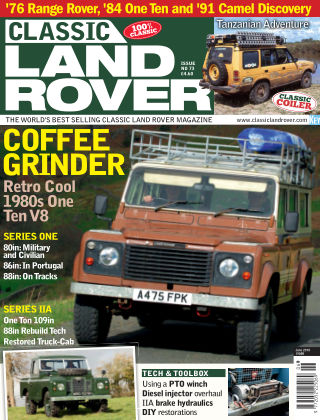 Classic Land Rover Jun 2019