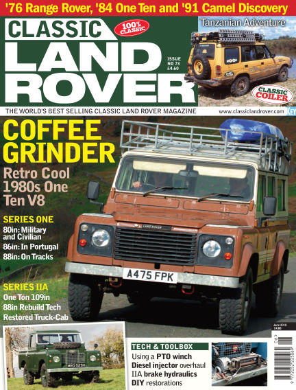 Classic Land Rover May 01, 2019 00:00