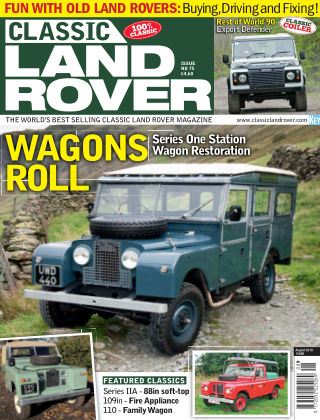 Classic Land Rover Aug 2019