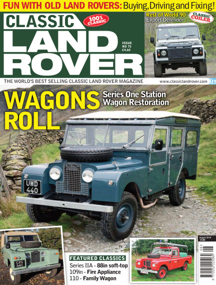 Classic Land Rover July 03, 2019 00:00