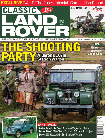 Classic Land Rover August 07, 2019 00:00