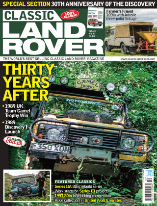 Classic Land Rover Oct 2019