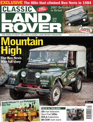 Classic Land Rover Apr 2019