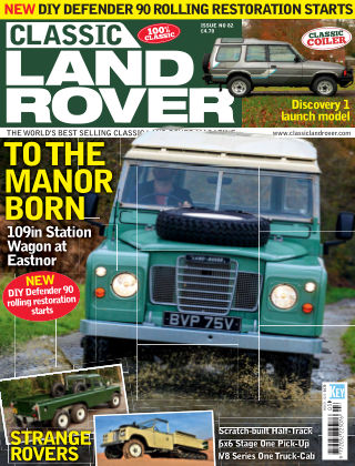 Classic Land Rover Mar 2020