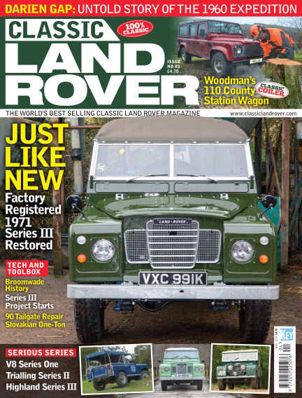 Classic Land Rover March 04, 2020 00:00