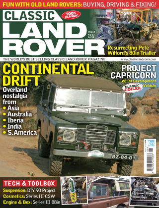 Classic Land Rover Aug 2020