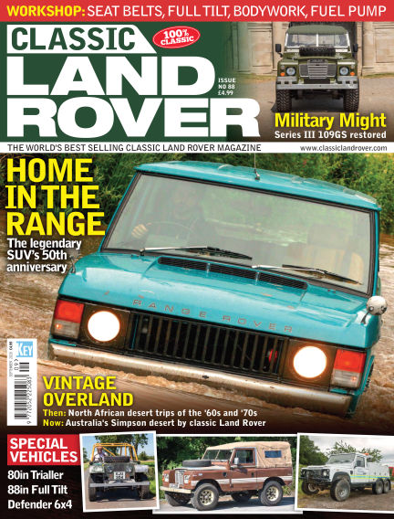Classic Land Rover August 06, 2020 00:00