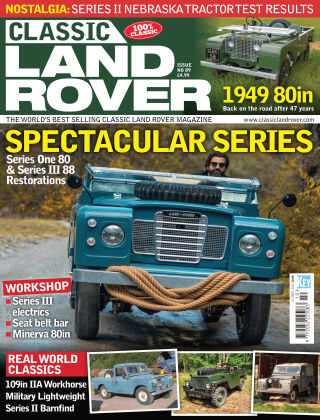 Classic Land Rover Oct 2020
