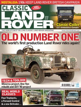 Classic Land Rover Nov 2020