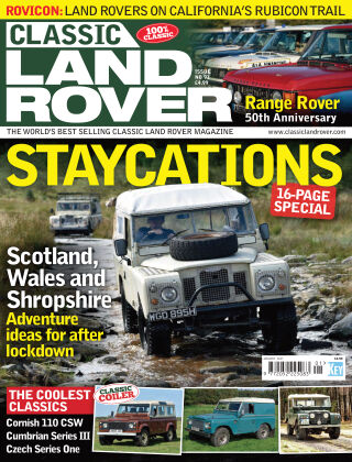 Classic Land Rover Jan 2021