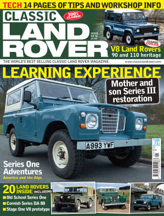 Classic Land Rover May 2021
