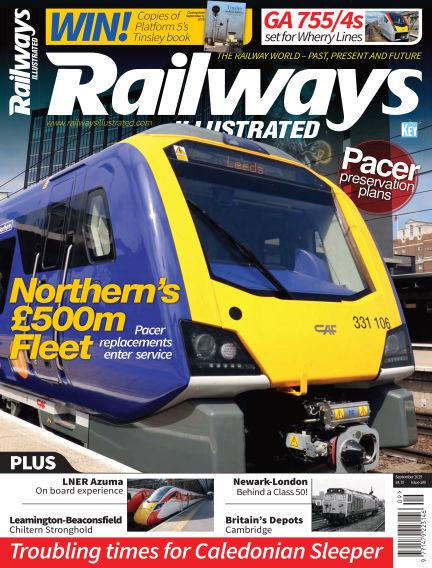 Railways Illustrated August 01, 2019 00:00